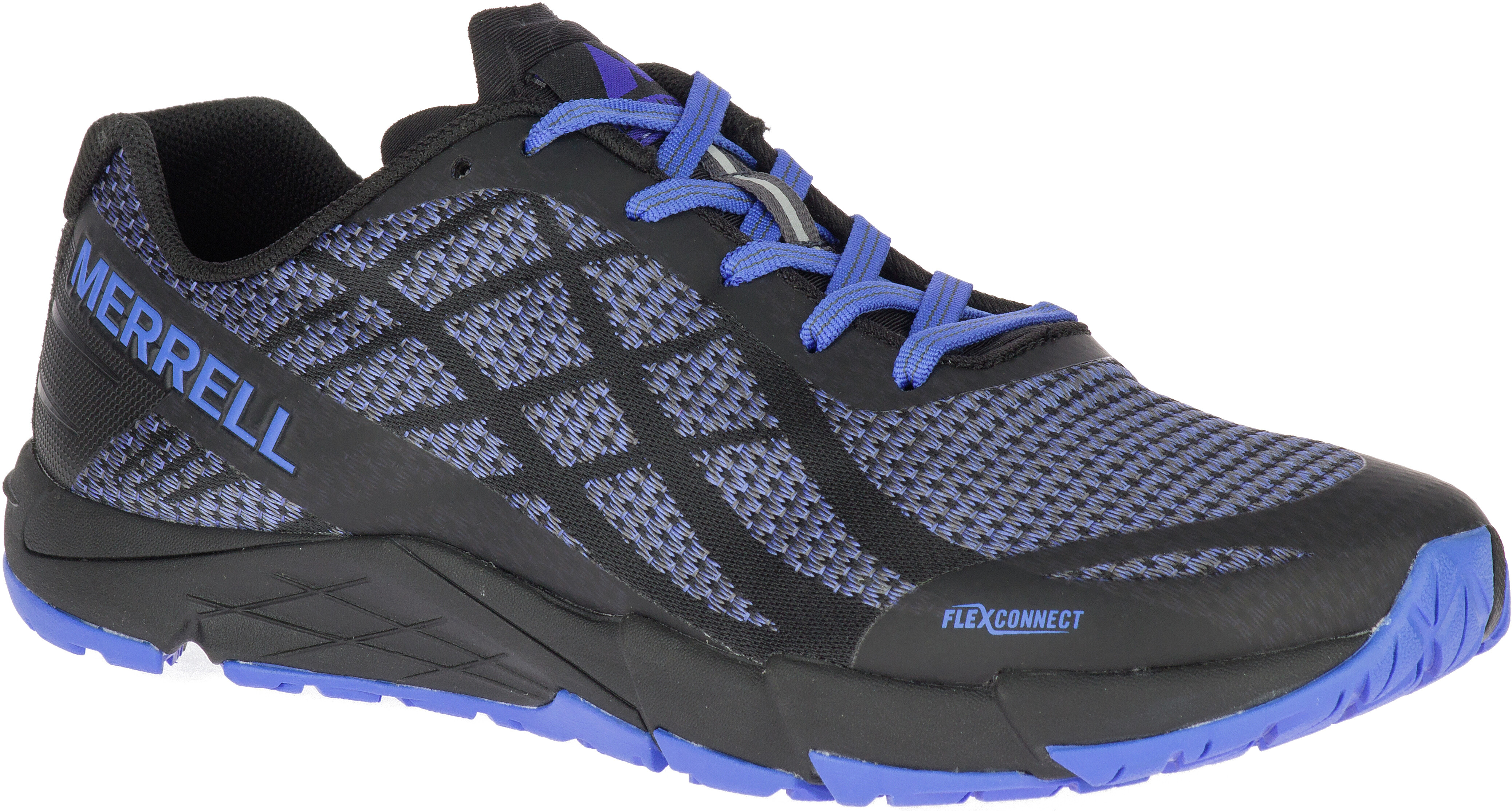 26a7614e8fbed Merrell Bare Access Flex Shield Buty do biegania Kobiety niebieski/czarny